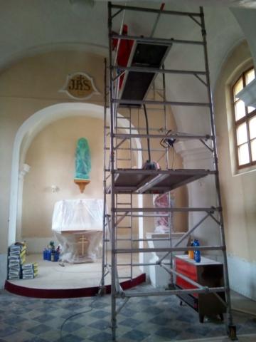 kostel Vícov